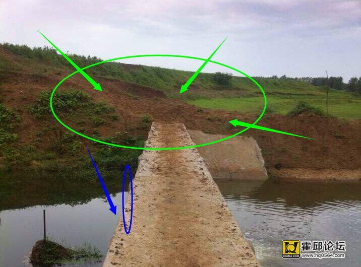 桥剪纸画图案大全简单-桥岗村23万的简易桥所思 如果让我造这个桥 霍邱杂谈